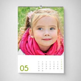 Fotokalender als Wandkalender
