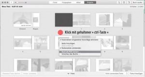 Export PDF aus iPhoto