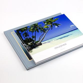 Fotobücher mit Dateien aus iPhoto gedruckt