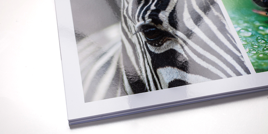 NEU - auch hochglänzend mit UV-FotoGloss