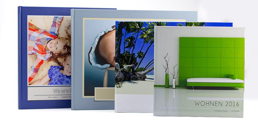 Formatübersicht für Fotobücher aus Fotos