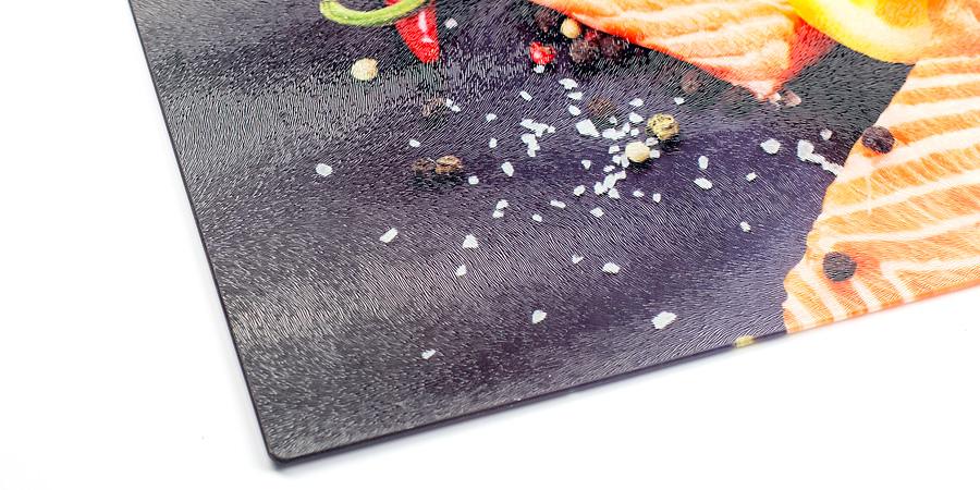 Foto-Schneidebrett aus Acryl