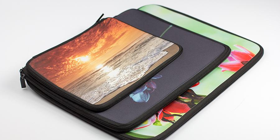 Laptop-Taschen mit Foto bedruckt